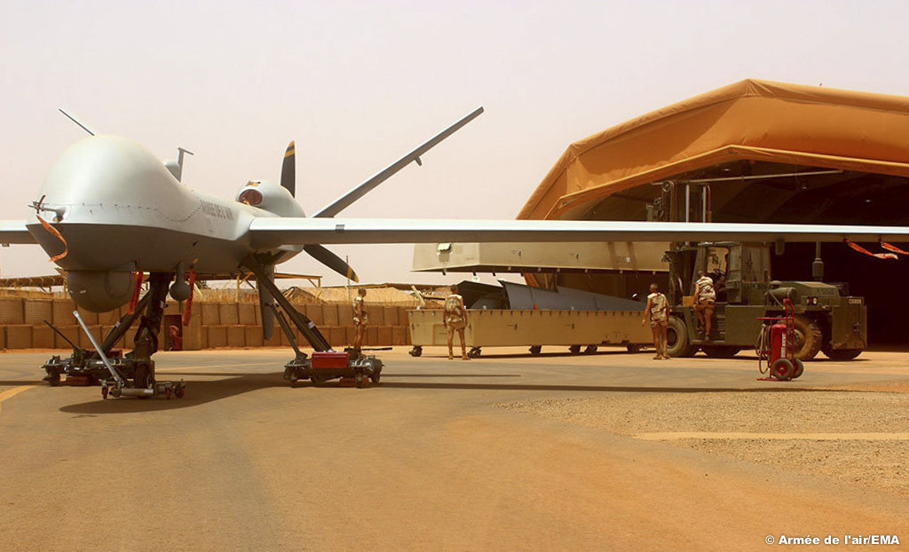 sénat les drones armes
